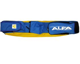 Alfa 4 Stick Hockey Bag - Yellow & Royal
