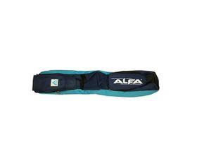 Alfa 4 Stick Hockey Bag - Sky & Navy