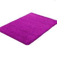 Shaggy Rug - Purple (Size: 160 x 230cm)