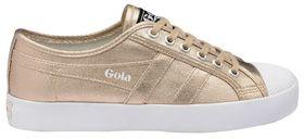 Gola Ladies Coaster Metallic Trainer - Rose Gold