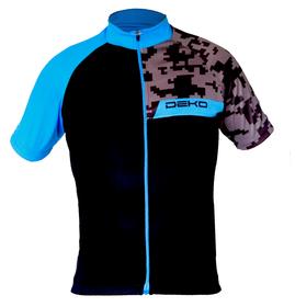 Deko Men's Camo Jersey - Blue & Black