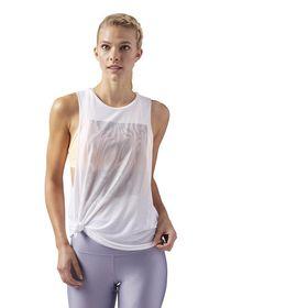 Women's Reebok Moire Graphic Muscle Tank