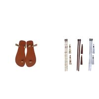 37 Sandals Ladies Interchangeable Leather Sandals & Straps - Combo 2