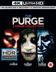 The Purge Trilogy (4K UHD + Blu-Ray + UV - Parallel Import)