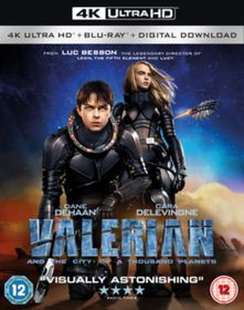 Valerian and the City of A Thousand Planets (4K Ultra HD + Blu-Ray - Parallel Import)