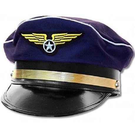 9180f98aa Katty House Unisex Captain Pilot Hat - Dark Blue