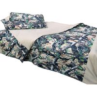 Sniper Africa Duvet Cover with 2 Pillow Cases - 3D Camo