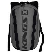 Kings Dome Shaped Backpack - Grey & Black