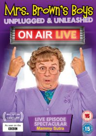 Mrs Brown's Boys: Unplugged and Unleashed - On Air Live (DVD)