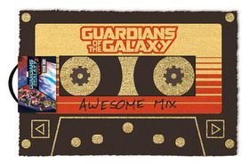 Guardians Of The Galaxy Vol. 2 Awesome Mix Door Mat (Parallel Import)