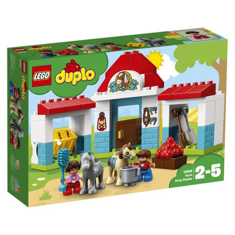 Lego Duplo Town Farm Pony Stable 10868 Buy Online In South