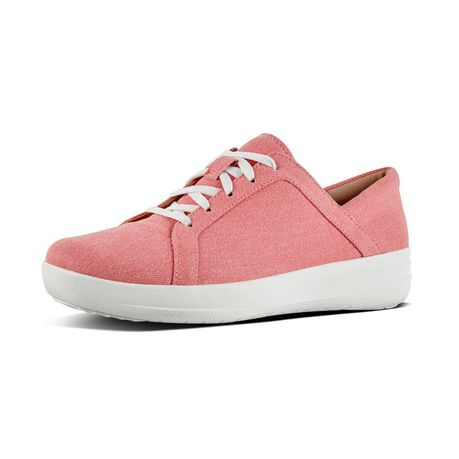 b7f87b701633 FitFlop F-Sporty Sneakers - Shimmer Denim Pink