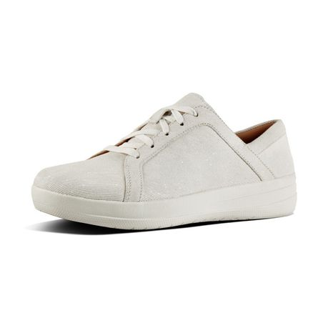 8c565274b27b FitFlop F-Sporty Sneakers - Shimmer Denim White