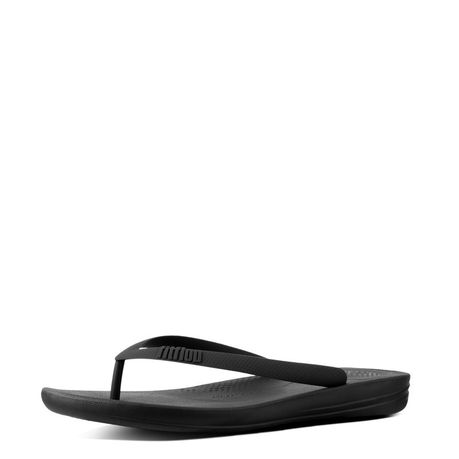 226a746a966 FitFlop Men s iQushion Flip Flops - Black