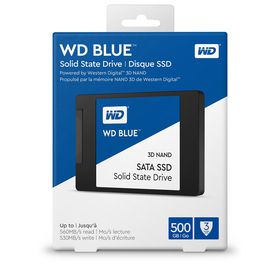 "WD 500GB 2.5"" Sata3 3d SSD - Blue"