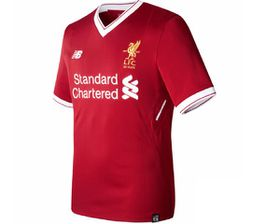 New Balance Unisex Liverpool Home Replica Jersey - Red