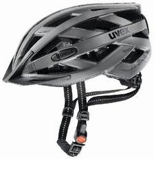 Uvex Cycle Helmet City i-Vo - Dark Silver (Size: 52-57)