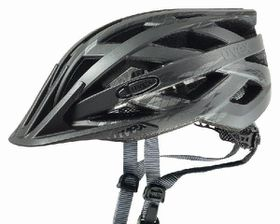 Uvex Cycle Helmet i-Vo - Black (56-60)