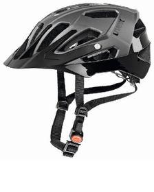 Uvex Cycle Helmet Quatro - Silver & Black (52-57)