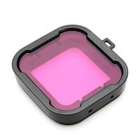 Xtreme X Super Suit Housing Dive Filter for GoPro Hero 6 & 5 - Magenta
