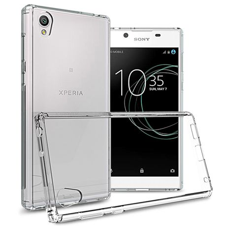 new product f498d 9fb5d Bumper Back Case for Sony Xperia L1 - Transparent
