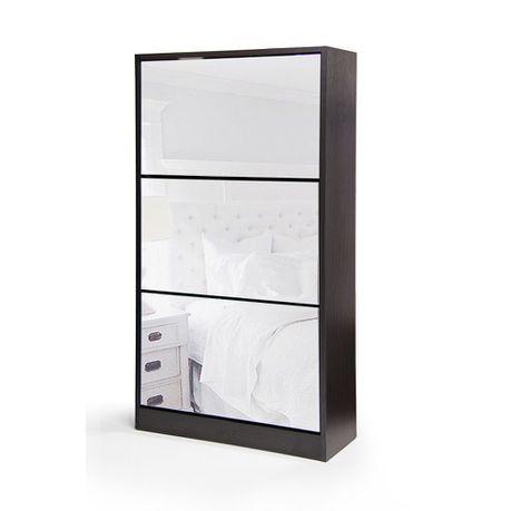 Marvelous Fine Living 3 Tier Mirror Shoe Cabinet Download Free Architecture Designs Grimeyleaguecom