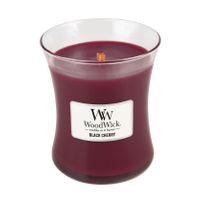 WoodWick Black Cherry Medium Jar Candle