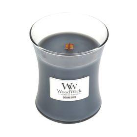 WoodWick Evening Onyx Medium Jar Candle