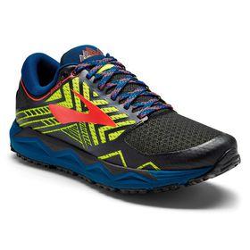 Brooks Men's Caldera 2 Trail Running Shoes - Blue, Nightlife & Black