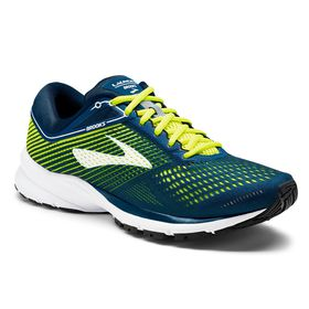 Brooks Men's Launch 5 Running Shoes - Blue, Nightlife & White