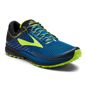 Brooks Men's Mazama 2 Trail Shoes - Blue, Black & Nightlife