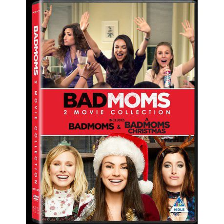 Bad Moms Christmas Dvd Release Date.Bad Moms Bad Moms Christmas Boxset Dvd