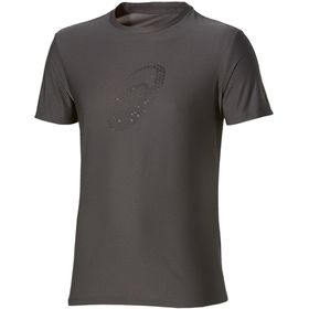 Asics Men's Running Graphic Short Sleeved Top - Black