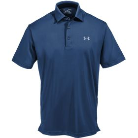 Under Armour Men's Playoff Polo T-Shirt - Academy & Graphite