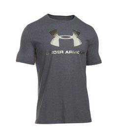 Under Armour Men's Sportstyle Logo T-Shirt - Dark Grey