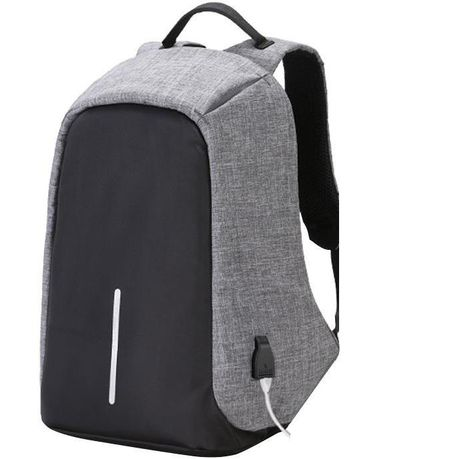 5c648c770d Anti-Theft Waterproof Travel Laptop Backpack - Grey