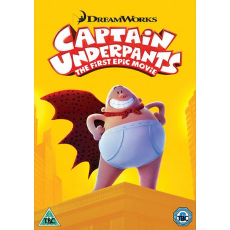 Captain Underpants The First Epic Movie Dvd Buy Online In South Africa Takealot Com