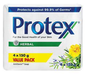 Protex Herbal Bar Soap 4 Pack - 150g