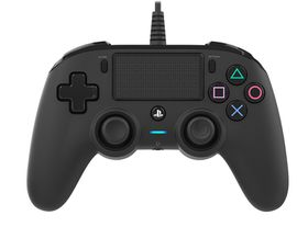 Nacon - Black Wired Compact Controller (PS4)
