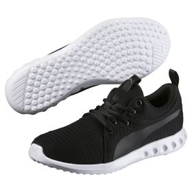 Men's Puma Carson 2 Running Shoes - Black