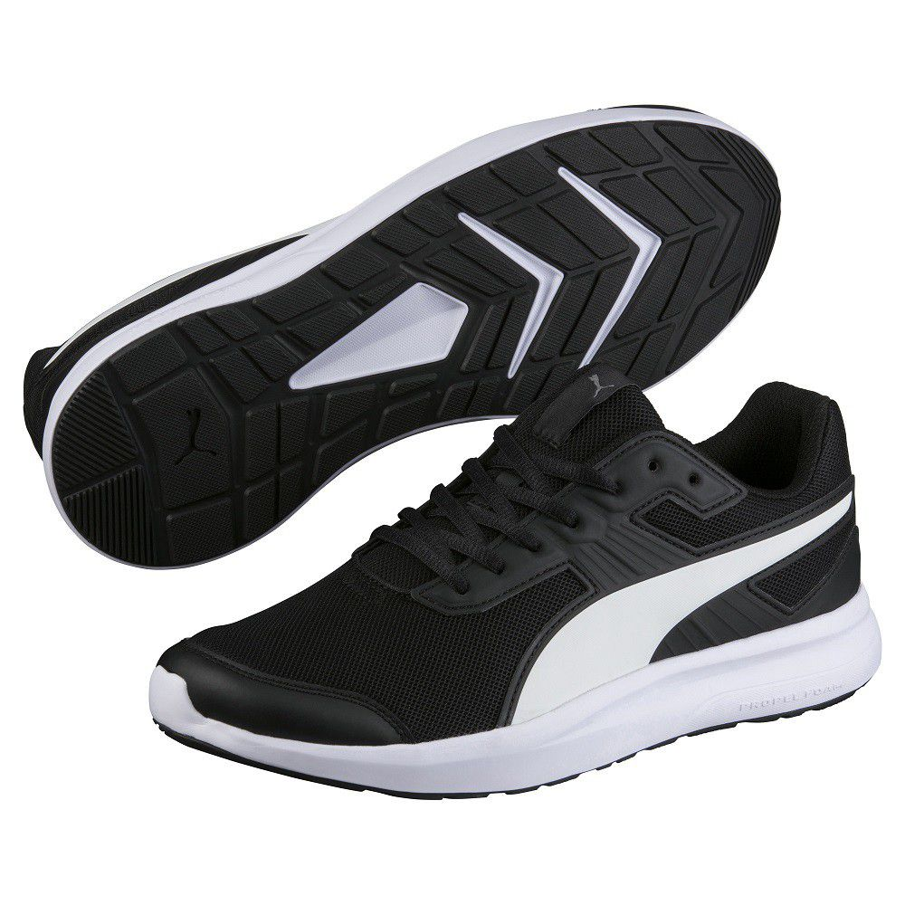 PumaESCAPER - Neutral running shoes - black/white
