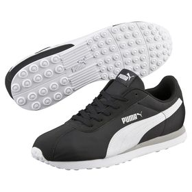 Men's Puma Turin NL Shoes - Black/White