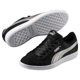 Women's Puma Vikky EP Shoes - Black/Silver