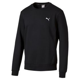 Men's Puma ESS Crew Neck Sweatshirt - Black