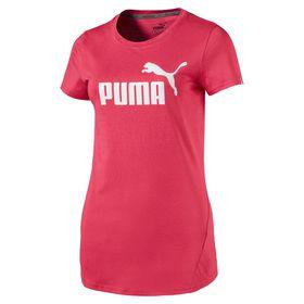 Women's Puma ESS Logo T-Shirt - Pink