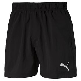 Men's Puma ESS Woven 5 Inch Shorts - Black