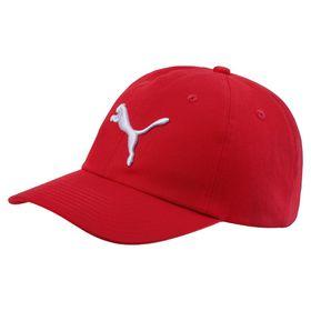 Men's Puma ESS Cap - Red/White (Size: Adult)