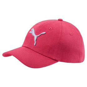 Junior Puma ESS Cap - Pink/White (Size: Youth)