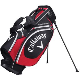 Callaway X Series Golf Stand Bag - Black, Red & White
