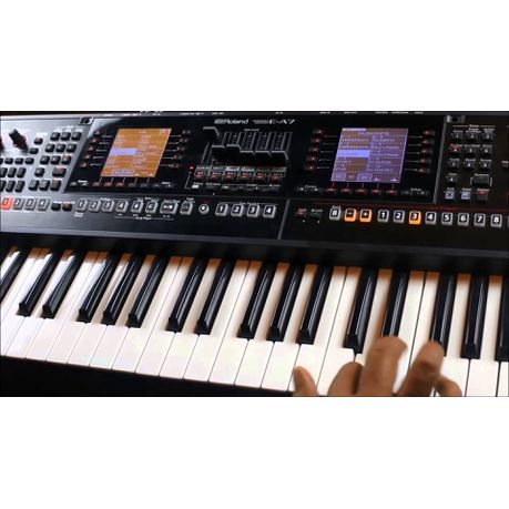 Roland E-A7 Expandable Arranger Keyboard | Buy Online in